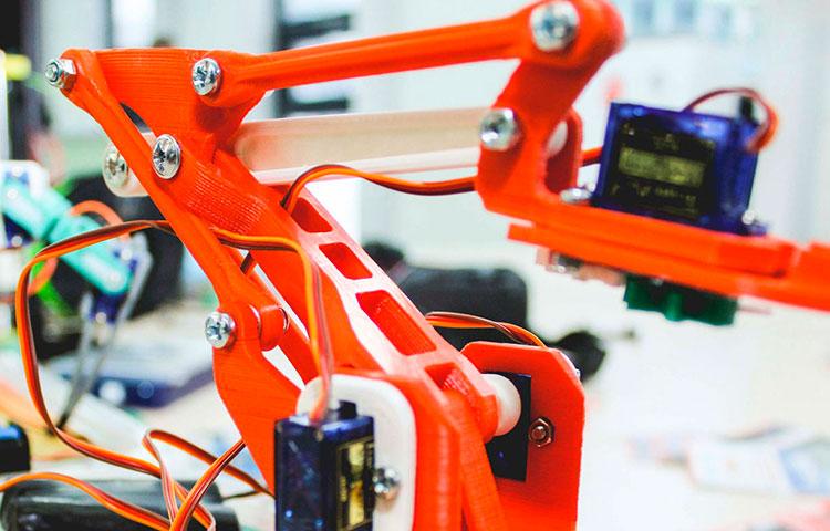 Промышленный робот манипулятор своими руками 32