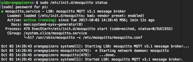 Установка и настройка MQTT брокера на Raspberry Pi или